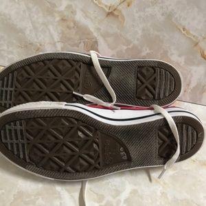 Converse Shoes - Converse pink sz 10 women's /men's sz 8